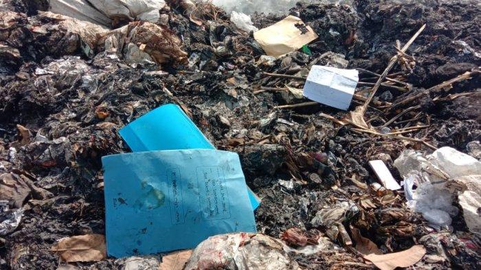 PENEMUAN Berkas-berkas Penting Milik Dinas PUPR Indramayu di Tumpukan Sampah, Dibuang atau Terbuang?