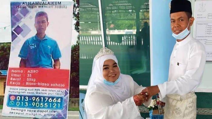 Berkat Pasang Iklan Cari Jodoh di Jalanan, Pria Ini Akhirnya Berhasil Menikahi Wanita Cantik