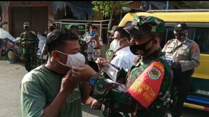 Berkolaborasi dengan Jabar Bergerak, Kodim 0617 Majalengka Bagikan Ribuan Masker dan Sembako