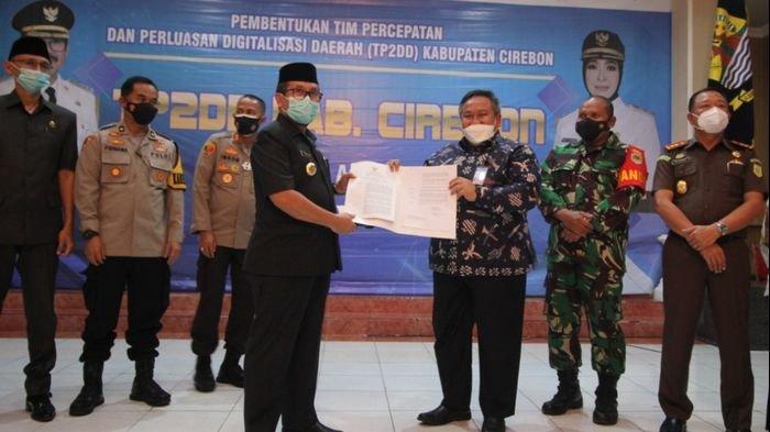 Percepat Implementasi Digitalisasi Transaksi Keuangan, Pemkab Cirebon Bentuk TP2DD