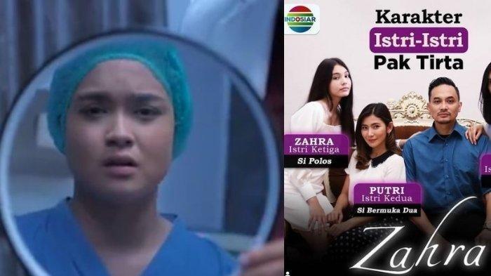Profil Hanna Kirana Sepupu Citra Kirana yang Gantikan Lea Ciarachel dalam Sinetron Zahra Indosiar