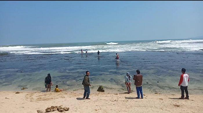 Bocah 6 Tahun Terseret Ombak Laut Selatan di Pantai Karapyak Saat Bermain dan Mencari Kerang