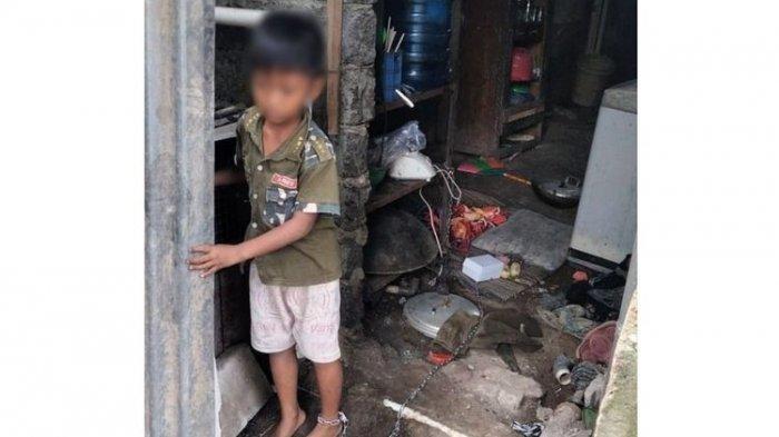 Bocah 7 Tahun Disekap dan Dirantai Ibu dan Ayah Kandung Selama Berhari-hari di Dapur Rumahnya