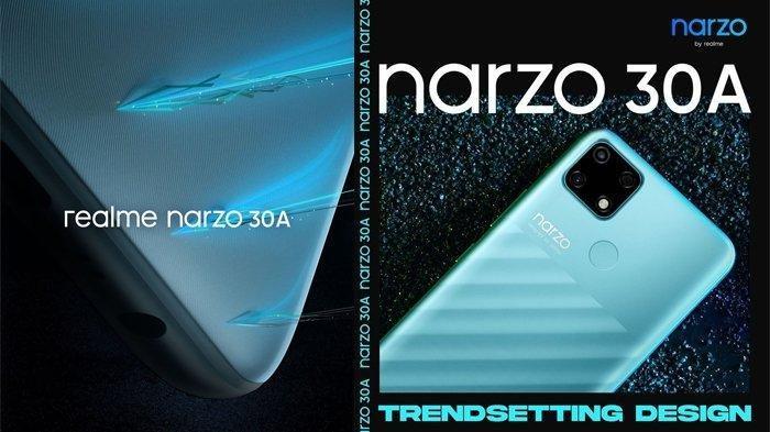 KEREN, Nih Spesifikasi Realme Narzo 30A di Indonesia, Andalkan Chipset MediaTek Helio G85