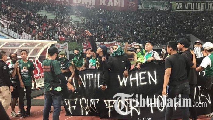 Persebaya Surabaya Main di Bandung, Sampai Siang Ini Tak Terlihat Ada Bonek Datang Mendukung