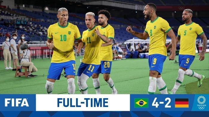 LINK Live Streaming Brasil vs Pantai Gading Sebentar Lagi Main, Saksikan di Vidio.com