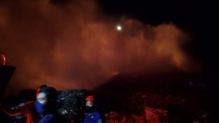 Selain Faktor Cuaca, Damkar Majalengka Ungkap Penyebab Kebakaran di TPA Heuleut Kadipaten