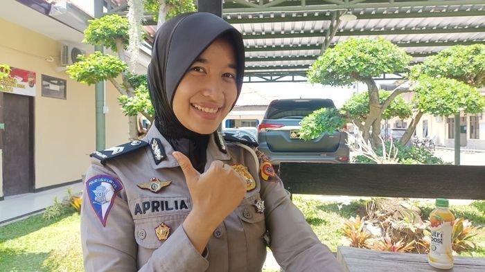 Cerita Briptu Aprilia Polwan Selama Jadi Polisi di Polres Indramayu, Pernah Dimarahi Ibu-ibu