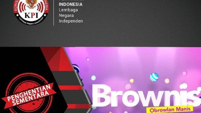 Acara Brownis Ruben Onsu, Ayu Ting Ting dan Ivan Gunawan Dihentikan KPI Karena Alasan Ini