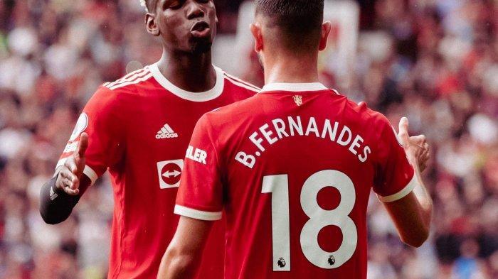 Bruno Fernandes Cetak Gol Perdana untuk MU di Liga Inggris 2021, Skor Babak Pertama 1-0