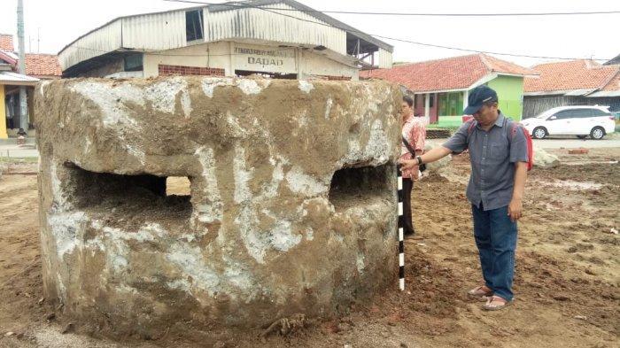 BREAKING NEWS Muncul ke Permukaan Laut Tiga Bungker Bersejarah Gegerkan Warga Desa Dadap Indramayu
