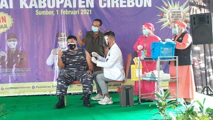 Mendampingi Forkopimda Kabupaten Cirebon, Bupati Imron Rosyadi Tak Divaksin Covid-19 Karena Hal Ini