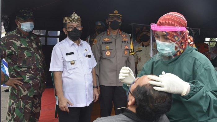 Bupati Imron Rosyadi Pastikan Pemudik yang Melintasi Kabupaten Cirebon Tidak Terpapar Covid-19