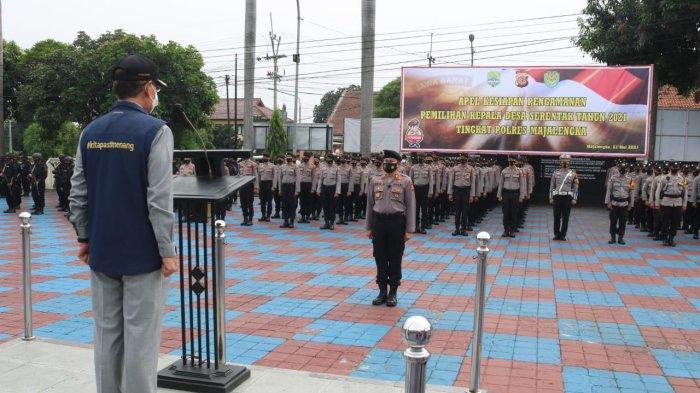 725 Personel Pengamanan Jaga Pilkades di Majalengka, Bupati Minta Pelanggar Prokes Didiskualifikasi