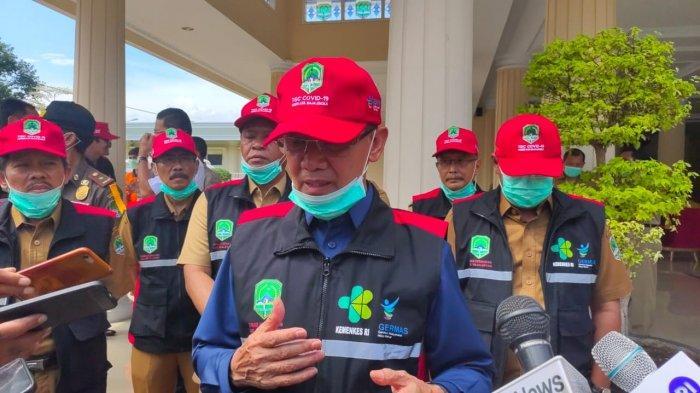 Bupati Majalengka Karna Sobahi Akan Beri Sanksi Tegas Bagi Warga yang Tidak Gunakan Masker