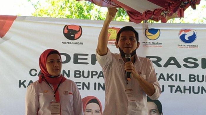 Nina Agustina dan Lucky Hakim Akan Dilantik Jadi Bupati dan Wabup Indramayu Pada 26 Februari 2021