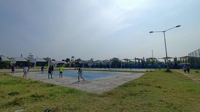 Olahraga Plus Bisa Belanja di Area Sport Center Indramayu, Cocok Banget Buat Nikmati Minggu Pagi