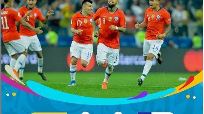 HASIL Copa America 2019 - Lewat Drama Adu Penalti, Cile Lolos ke Semi Final