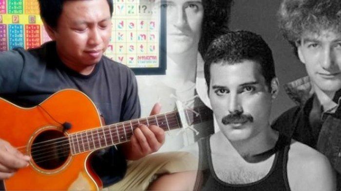 Mengcover Lagu Love Of My Life, Pria Asal Indonesia Ini Disukai Queen Asli, Aksinya Curi Perhatian