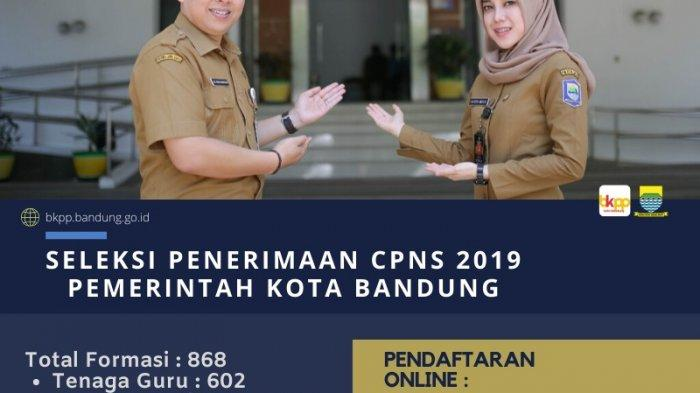 HEADLINE TRIBUN JABAR Hari Ini: Awas Penipuan CPNS! Kota Bandung dapat Kuota 868 Posisi
