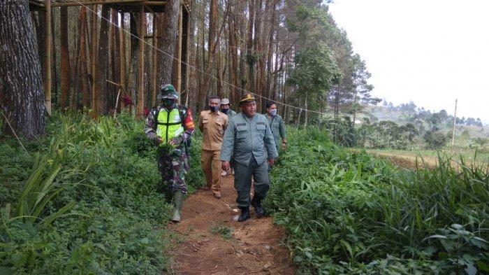 Dandim 0615/Kuningan Sowan ke Balai TNGC Bahas Antisipasi Kebakaran & Kerusakan Hutan Gunung Ciremai