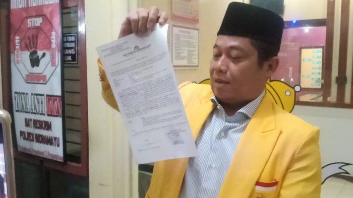 Daniel Mutaqien & Hilal Hilmawan Dilaporkan ke Polisi oleh DPD Golkar karena Berprilaku Premanisme
