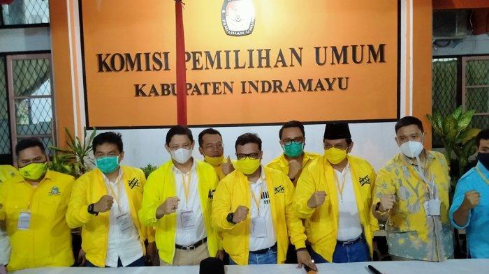 Fraksi Golkar DPRD Indramayu Siap Menangkan Bapaslon Daniel Muttaqien Syafiuddin-Taufik Hidayat