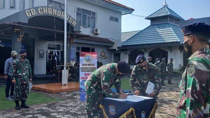 Lanal Cirebon Canangkan Pembangunan Zona Integritas Menuju WBK WBBM