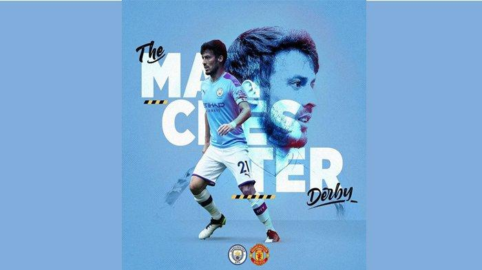 Manchester City vs Manchester United, Derby Manchester Terakhir bagi David Silva di Etihad