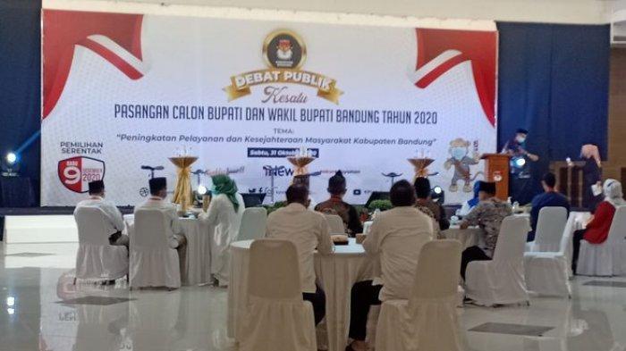Debat Publik Pilkada Kabupaten Bandung Digelar Hari Ini, 3 Pasangan Calon Bahas Layanan Masyarakat