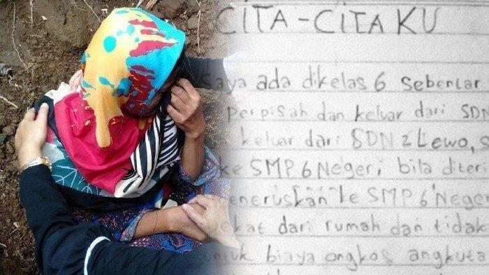 TERBONGKAR Isi Catatan Delis, Gadis yang Dibunuh Ayahnya, Ingin Jadi Polwan, Tak Mau Bebani Ibunya