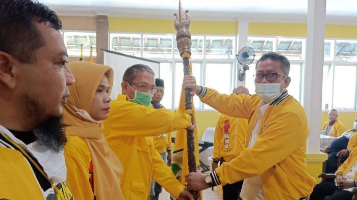 Asep Setia Mulyana Terpilih Jadi Ketua DPD Partai Golkar Kuningan Periode 2019-2024