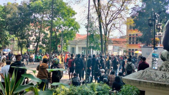 Seorang Perusuh Demo di Bandung Ditetapkan Tersangka, Terindikasi Kelompok Anarko, Ini Kata Polisi