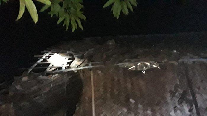Detik-detik Angin Puting Beliung Hantam Pemukiman Warga di Indramayu, Ada 7 Rumah Rusak