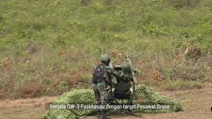 Prajurit Paskhas TNI AU Hancurkan Drone Musuh Pakai Rudal di Latihan Jalak Sakti 2021, Ini Videonya