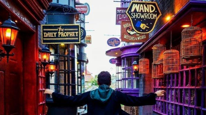 Diagon Alley, Dunia Sihir Harry Potter Sekarang Ada di Jatim Park 3