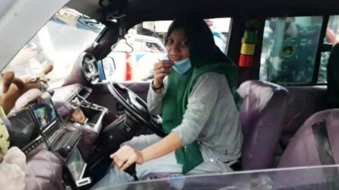 Kisah Diah, Sopir Angkot Perempuan di Bogor, Ibu Satu Anak Ini Masih Berusia 19 Tahun