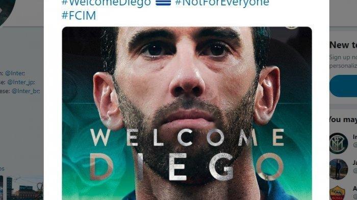 Slavia Praha Sudah, Inter Milan Bersiap Hadapi Barcelona, Bek Inter Diego Godin Sebut Laga 'Final'