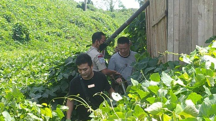 4 WNA Kocar-kacir Saat Petugas Kantor Imigrasi Sukabumi Geruduk Tempat Pertambangan di Simpenan