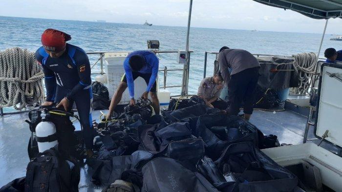 Pernah Ikut Operasi SAR Lion Air, Tim Selam Polairud Polda Jabar Ikut Bantu Evakuasi Sriwijaya Air