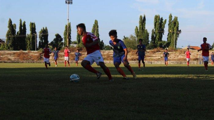 Di Bawah Pelatih Mantan Pemain Persib, Tim Sepakbola Indramayu Tekuk Kuningan pada Latih Tanding