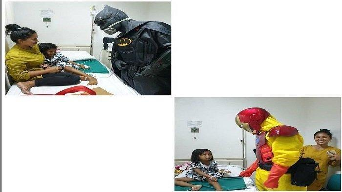 Dokter Pakai APD Kostum Iron Man & Batman, Tujuannya Hibur Pasien Anak-anak, Dipuji Banyak Netizen