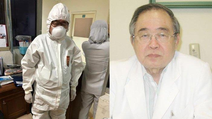 Ini Dokter Handoko Gunawan, Usia 80 Tahun Tangani Pasien Corona Hingga Jam 3 Pagi, Kini Jatuh Sakit