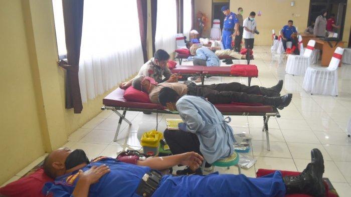 Imbas Pandemi Covid-19, Stok Darah PMI Kabupaten Cirebon Menurun Drastis