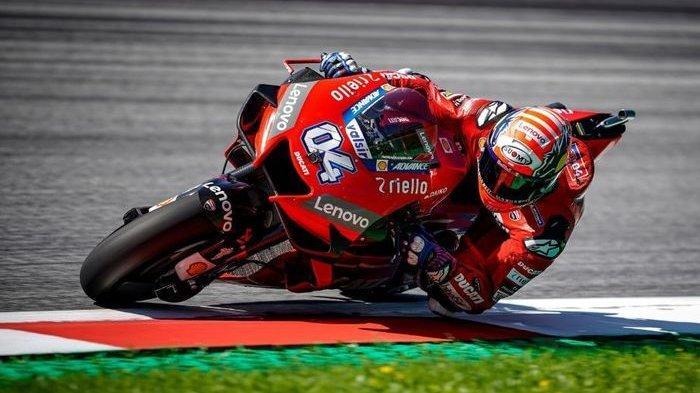 Hasil MotoGP Austria 2020, Andrea Dovizioso Juara, Race Diwarnai Kecelakaan Mengerikan