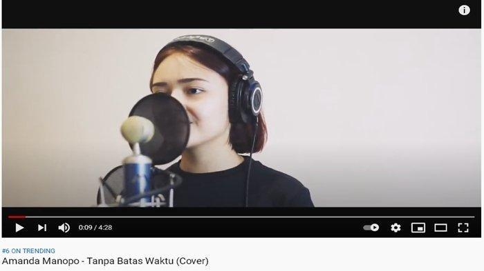 Download Lagu Tanpa Batas MP3, Cover Amanda Manopo OST Sinetron Ikatan Cinta RCTI, Dengerin Suaranya