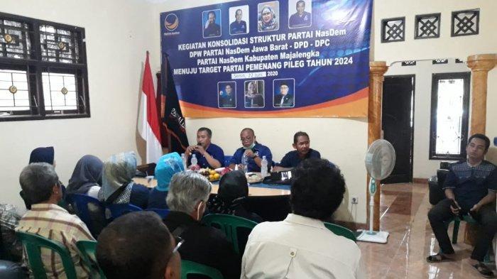 DPD Nasdem Minta Pengurus DPC dan DPRt Evaluasi Kinerja Partai