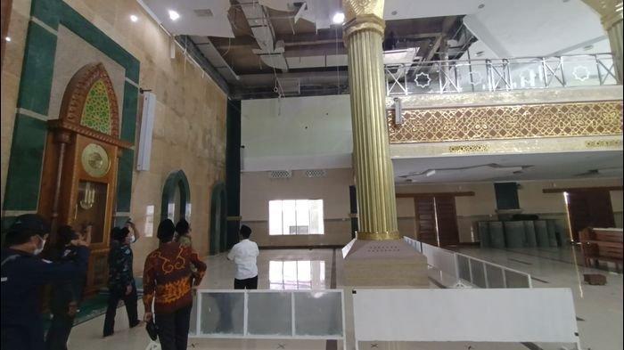 DPR RI Desak Pemda Gelar Investigasi, Beberapa Bagian Masjid Islamic Center Indramayu Riskan Ambruk