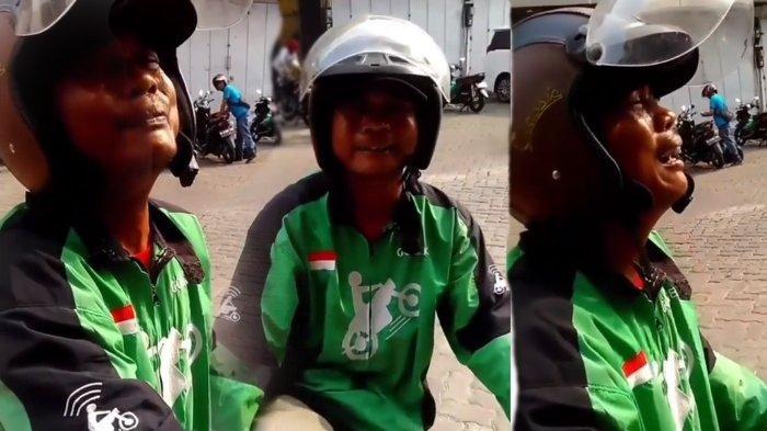 Driver Gojek Menangis Histeris, Sampai Sesenggukan, Lama Dapat Orderan, Begitu Dapat Order di-Cancel