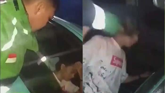 Detik-detik Youtuber Menangis Setelah Dipukul Driver Ojek Online Karena Prank Order Fiktif
